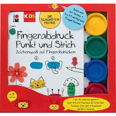 MINI KIDS Fingerfarben, 4 x 147 ml, Crayola | myToys