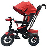 """Трехколесный велосипед Moby Kids """"Comfort 360° AIR, 12x10, красный"""
