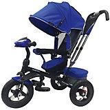 """Трехколесный велосипед Moby Kids """"Comfort 360° AIR, 12x10, синий"""
