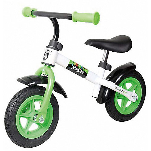 """Беговел Moby """"Kids KidRun"""", 10"""", бело-зеленый от Moby Kids"""