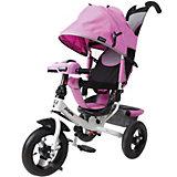 """Трехколесный велосипед Moby Kids """"Comfort AIR Car 2"""", 12x10, лиловый"""