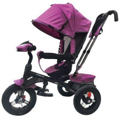 """Трехколесный велосипед Moby Kids """"Comfort 360° AIR, 12x10, лиловый"""