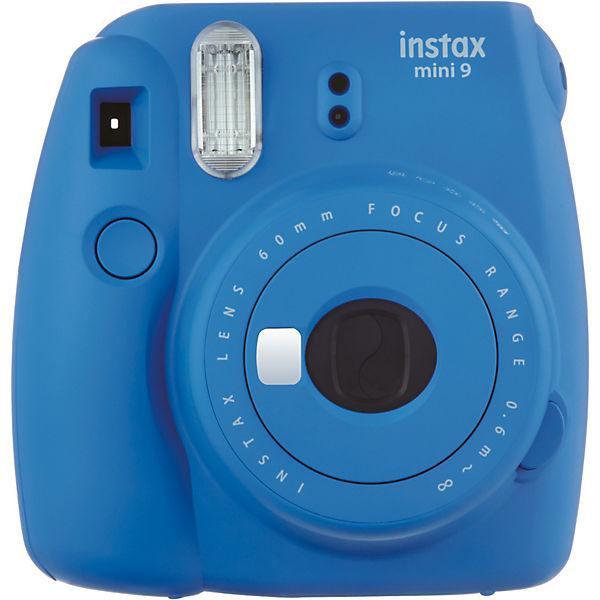 Instax Sofortbildkamera mini 9 - kobaltblau, FUJIFILM