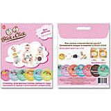 """Набор стикеров Stick'n Click """"Цветы жизни"""" для девочек, 13 наклеек"""