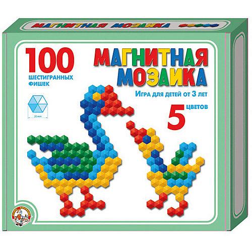 Магнитная мозаика Десятое королевство шестигранная, 100 элементов от Десятое королевство