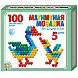 Магнитная мозаика Десятое королевство шестигранная, 100 элементов
