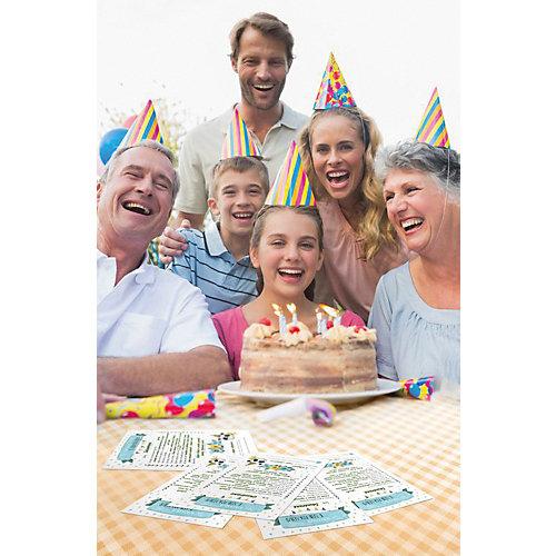 """Карточки для заполнения Cute'n Clever """"Мои пожелания в День Рождения. Акварельное настроение"""", 5 шт - разноцветный от Cute'n Clever"""