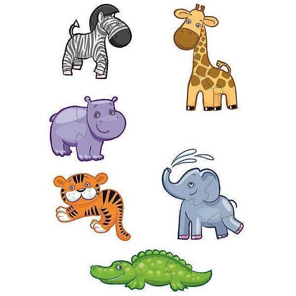 """Пазлы-контуры Десятое королевство """"Африканские животные"""""""
