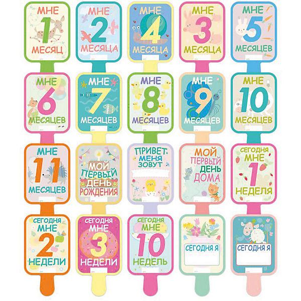 Карточки Первого Года Cute'n Clever, 16 карточек