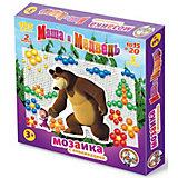 """Мозаика с аппликациями Десятое королевство """"Маша и Медведь"""", 105 элементов"""