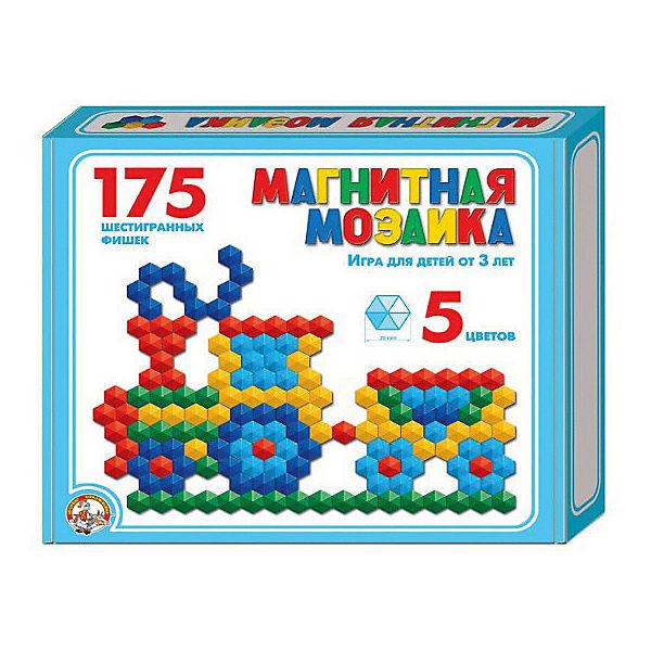 Магнитная мозаика Десятое королевство шестигранная, 175 элементов