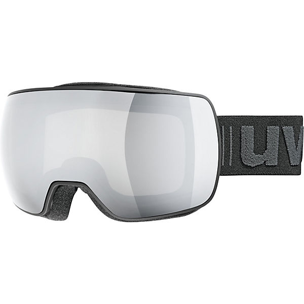 b77a93f0d Skibrille compact LM, black mat dl/mirror silver, uvex   myToys