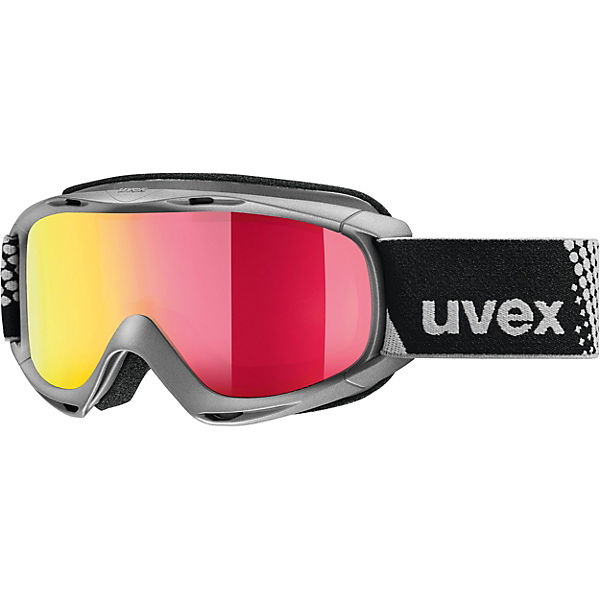 Skibrille slider FM, anthracite dl/red-lgl