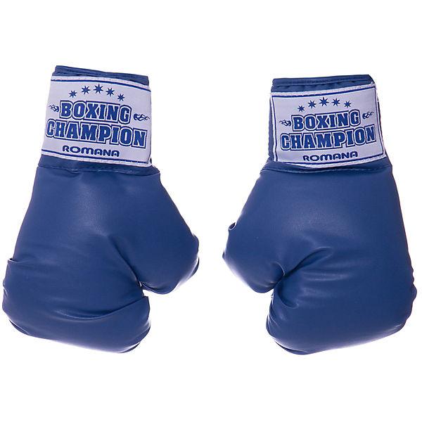 Боксерские перчатки Romana, для детей 7-10 лет, 6 унциий