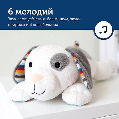Музыкальная мягкая игрушка-комфортер Zazu Декс от ZaZu