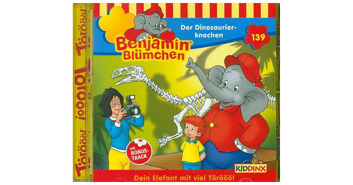 CD Benjamin Blümchen 139 - Der Dinosaurierknochen Hörbuch