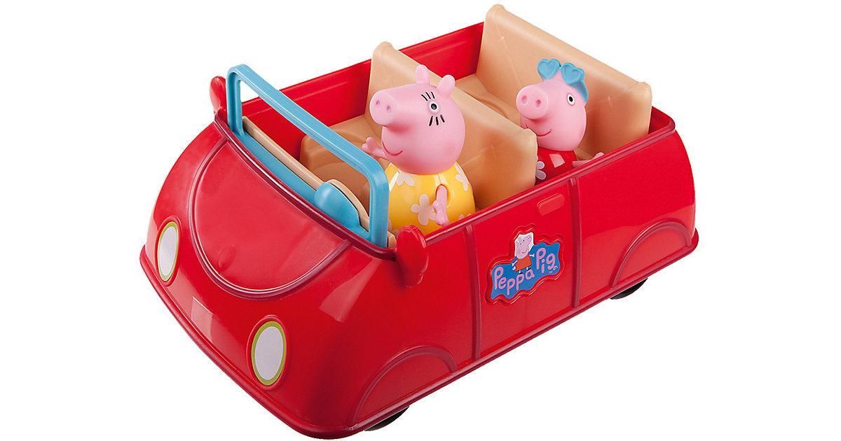 PEPPA - Peppas großes rotes Auto mit 2 Spielfiguren