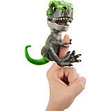 """Интерактивный динозавр WowWee Fingerlings """"Треккер"""", 12 см"""