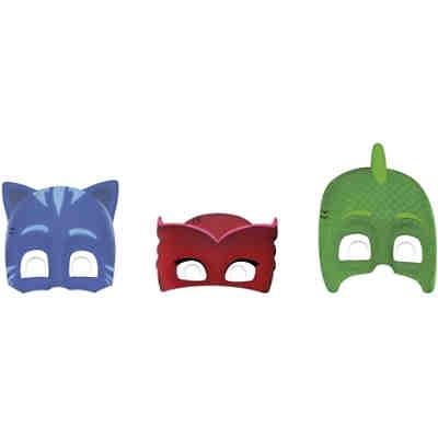 Masken Pj Mask 6 Stück Pj Masks Mytoys