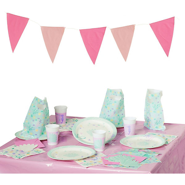 Partyset Under The Sea, 50-tlg., Procos