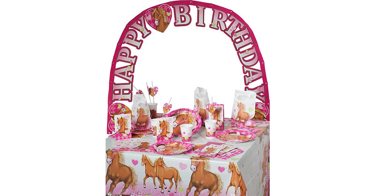 Partyset Horses, 56-tlg.