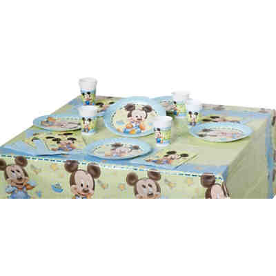 Partyset Mickey Mouse Baby, 37-tlg.