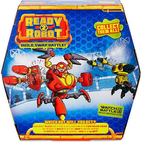 "Игровой набор MGA Entertainment ""Ready2Robot"" Капсула и минибот, набор 4 от MGA"