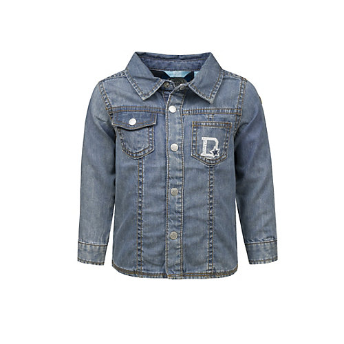Kinder Jeanshemd ´´… for cool Boys´´ Gr. 74 Jungen Baby | 04056178600654