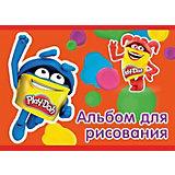 """Альбом для рисования Darpeje """"Play-Doh"""" А5, 40 листов"""