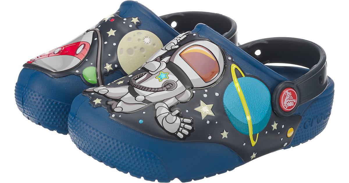 CROCS · Clogs SpaceExp Blinkies Gr. 24/25 Jungen Kleinkinder