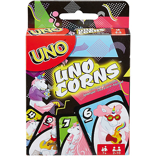 """Настольная игра Mattel Games Uno """"Уно"""" Единороги от Mattel"""