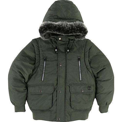 Timberland 2 – in 1 Winterjacke Gr. 152 Jungen Kinder | 03143167425655