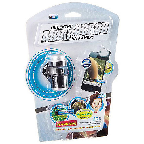 "Развивающая игрушка Bondibon ""Объектив-микроскоп на камеру смартфона"" от Bondibon"