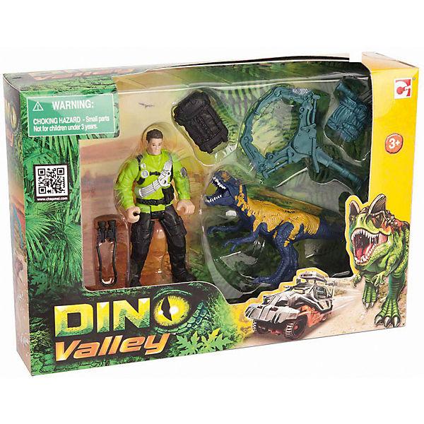 """Набор Chap Mei  """"Динозавр Мегалозавр и ловец динозавров"""""""