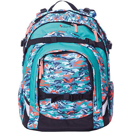 Рюкзак iKON, бирюзовый камуфляж - голубой от iKON