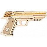 """Сборная модель Ugears """"Пистолет Вольф-01"""""""