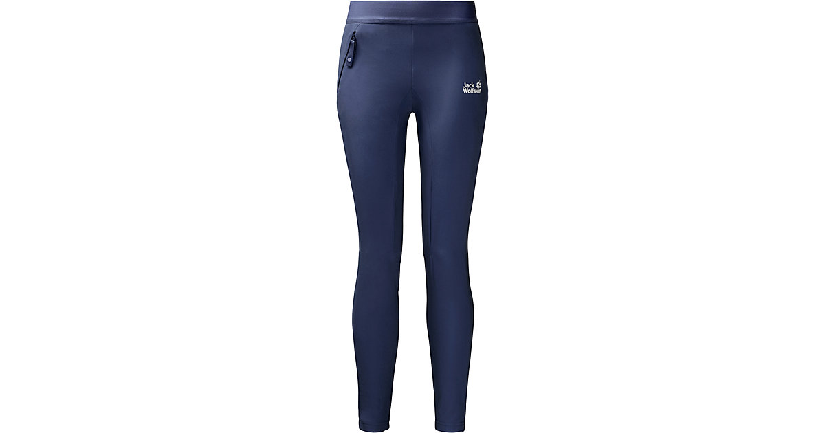 Jack Wolfskin · Outdoorleggings HELJAR Gr. 128 Mädchen Kinder
