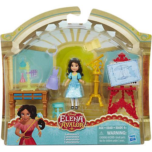 """Набор с мини-куклой Hasbro Disney Princess """"Елена - принцесса Авалора"""", Изабелла в лаборатории от Hasbro"""