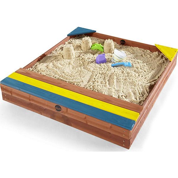 kinder sand spielzeug sandkasten mit aufbewahrungsbox plum mytoys. Black Bedroom Furniture Sets. Home Design Ideas