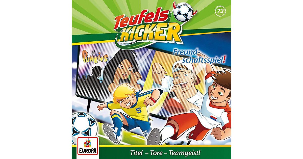 CD Teufelskicker 72 - Freundschaftsspiel Hörbuch