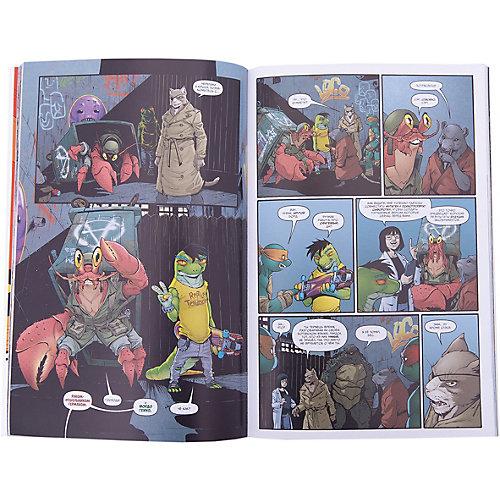 """Комиксы """"Подростки Мутанты Ниндзя Черепашки"""" Новый мир мутантов от Комильфо"""