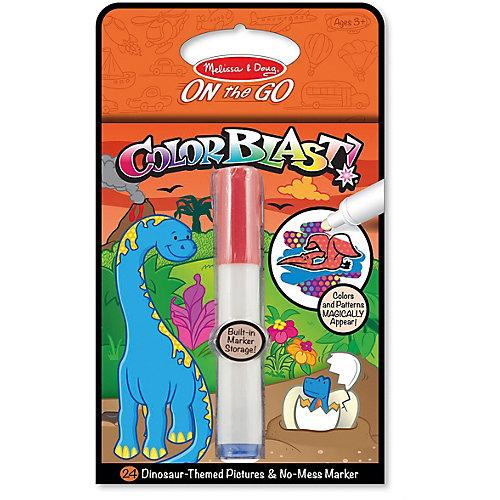 """Водная раскраска Melissa & Doug """"Прояви цвета. Динозавры"""" от Melissa & Doug"""