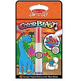 """Водная раскраска Melissa & Doug """"Прояви цвета. Динозавры"""""""