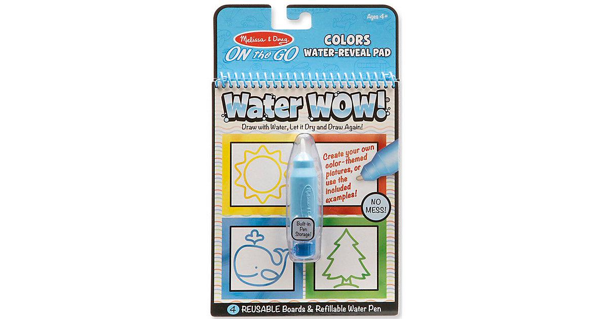 Water Wow! Malblock - Farben & Formen