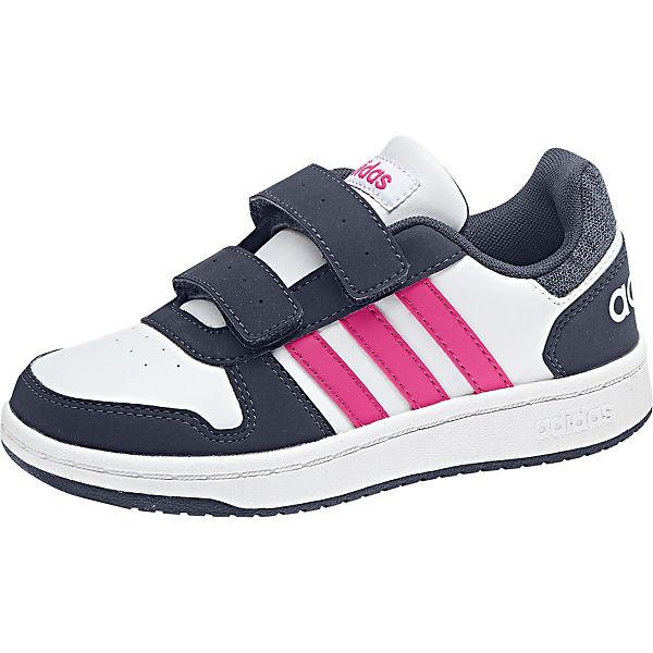 the best attitude de401 f6403 Sneakers Low HOOPS 2.0 für Mädchen, adidas Sport Inspired