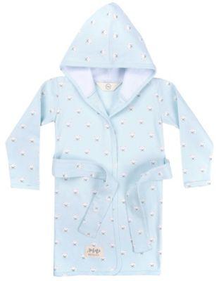 Халат Happy Baby для девочки - голубой