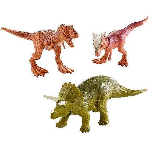 """Набор фигурок Jurassic World """"Мини-динозавры"""" 3 шт, вид 3 от Mattel"""