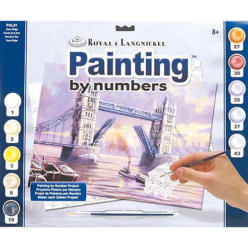 "Картина по номерам Royal&Langnickel ""Мост Тауэр"", 28,5х35 см от Royal&Langnickel"