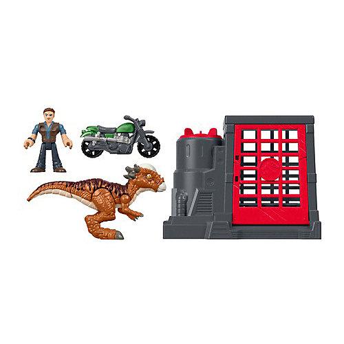 """Игровой набор Jurassic World """"Динозавры и герои"""" Стигимолох и Оуэн Грейди от Mattel"""
