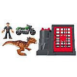 """Игровой набор Jurassic World """"Динозавры и герои"""" Стигимолох и Оуэн Грейди"""